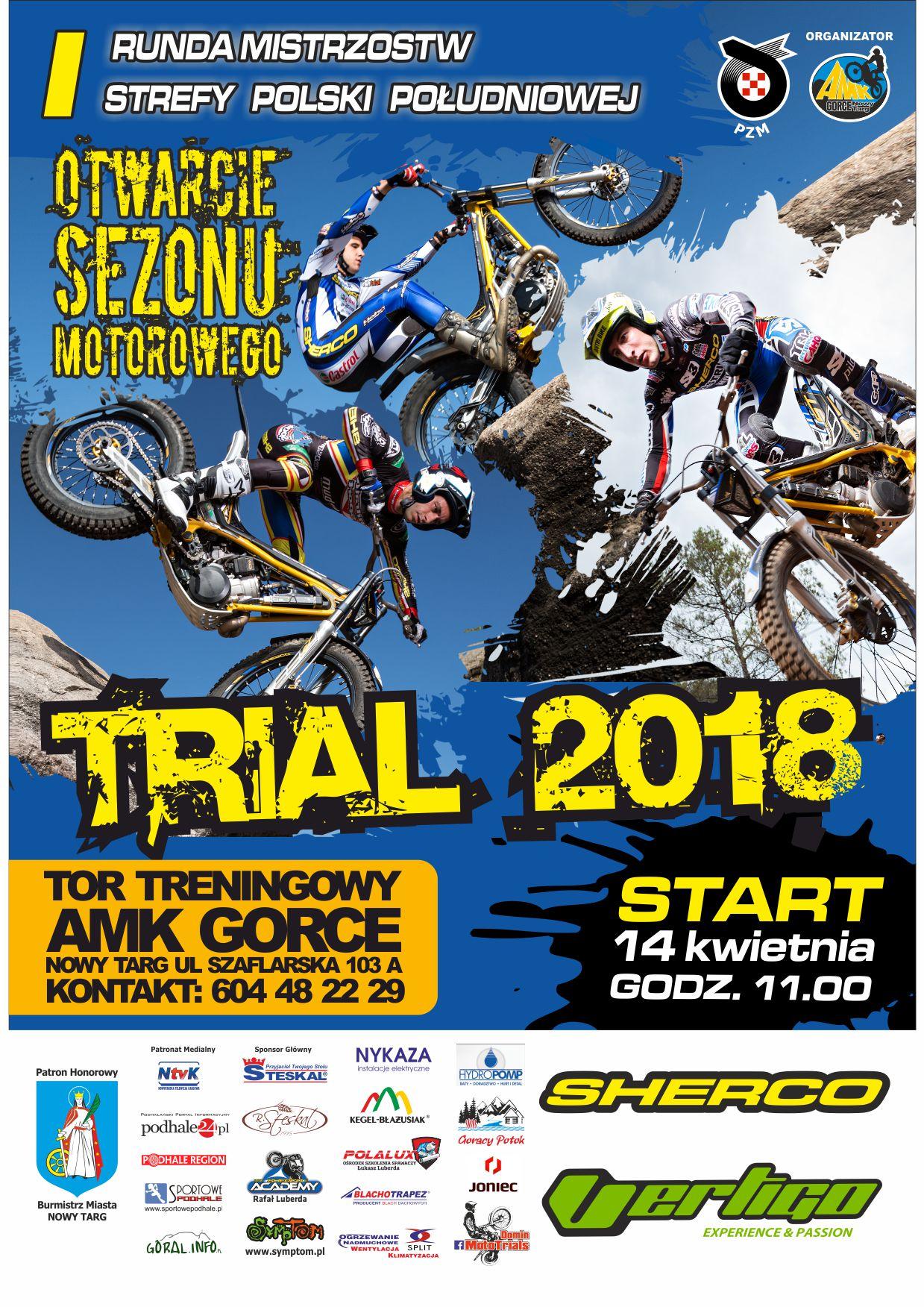 Trial Otwarcie sezonu 2018