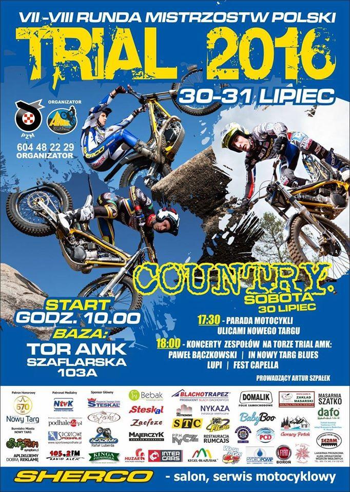 Mistrzostwa Polski Trial 2016